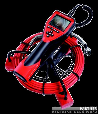 Rothenberger kézi csővizsgáló kamera ROSCOPE 1000 Pipe 25/16 készlet + Modul TEC