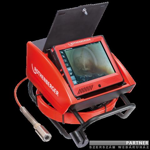 Rothenberger ROCAM 4 Plus csővizsgáló kamera 30m-es kábellel, 40mm-es EU kamerafejjel