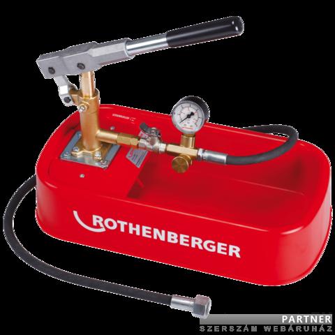 Rothenberger RP30 próbapumpa