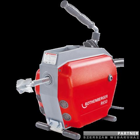 Rothenberger R650 duguláselhárító gép / alapgép