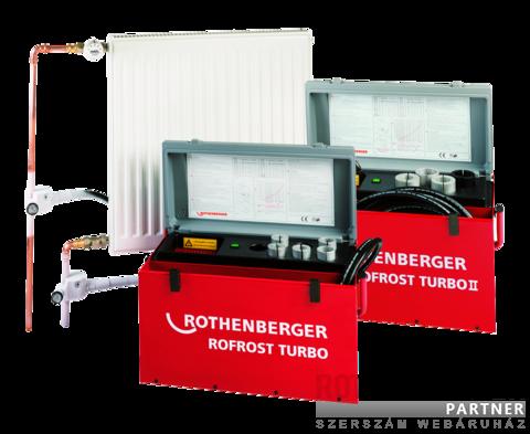 """Rothenberger Rofrost Turbo 3/4""""-2"""" csőfagyasztó gép"""